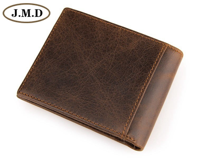 Genuine Cowhide Leather Men Wallet Short Coin Purse Small Vintage Wallet Brand High Quality Vintage Designer 8054B 2017 genuine cowhide leather brand women wallet short design lady small coin purse mini clutch cartera high quality
