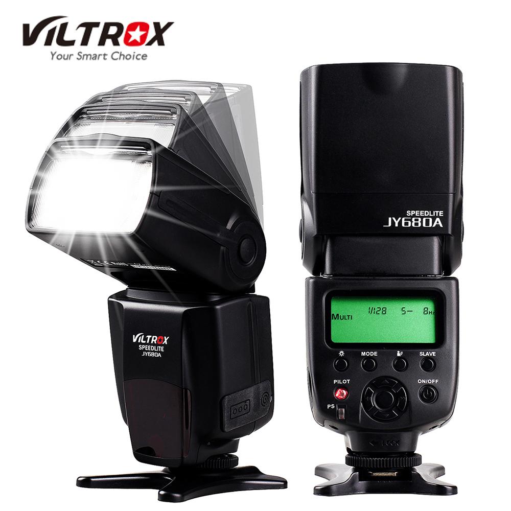 Prix pour DE/ES STOCK Viltrox JY680A Sur-appareil photo Flash GN33 Speedlite Flash Light avec LCD Écran pour Canon Nikon Sony Pentax DSLR caméra
