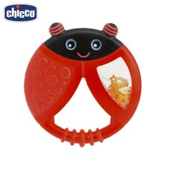 Teethers Chicco 68828 for boys and girls Rodent Silicone beads Baby goods Kids Dental Care