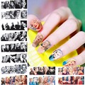 2017 new 12 sheets beauty Marilyn Monroe Nail Art Water Transfer Sticker DIY Nails Accessories manicure tools decals A793-804