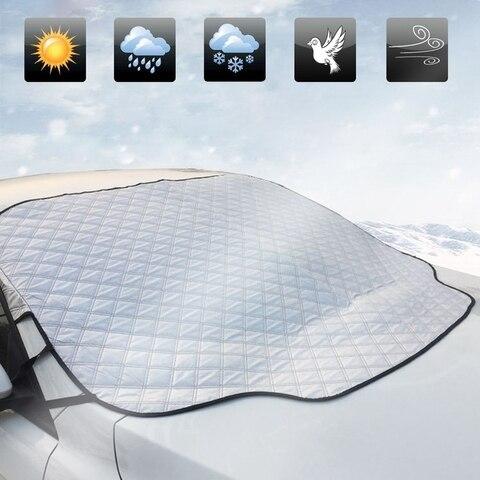 carro sol sombra uv para brisas capa protetor janela dianteira do carro viseira de sol