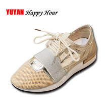 Fashion Sneakers for Women Casual Shoes Summer Spring Flat Mesh Shoes Women's Flats Breathable Brand Sneakers A001