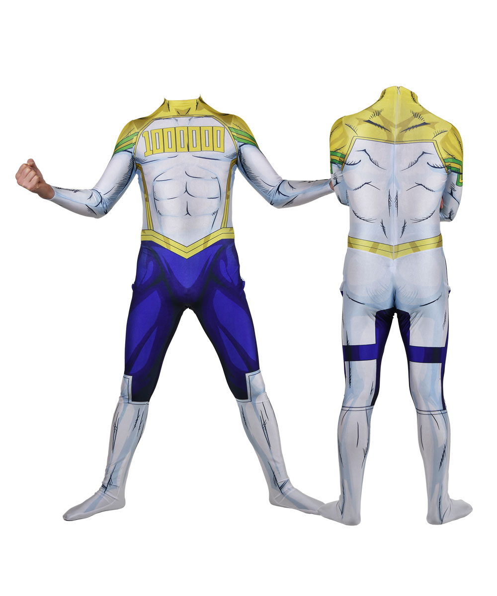 Lemillion <font><b>Mirio</b></font> Togata My Hero <font><b>Cosplay</b></font> Costume Lycra Zentai Bodysuit Halloween Party Suit Hot Sale image