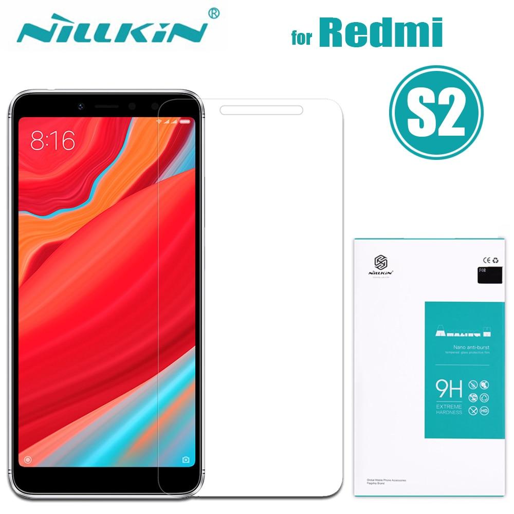 Nilkin for Xiaomi Redmi S2 Tempered Glass Screen Protector Nillkin 9H Hard 0.33mm Amazing H Clear Glass Film for Xiaomi Redmi S2