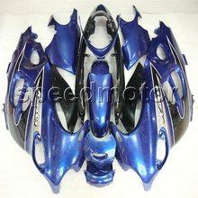 Parafusos + NOVO azul carenagem da motocicleta para Suzuki Katana GSX600F 2003 2004 2005 2006 GSX 750F 03-06 ABS kit de plástico