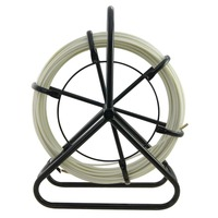 8x100 м стекловолокно канальный протягиватель кабеля Электрический инструмент для установки кабеля