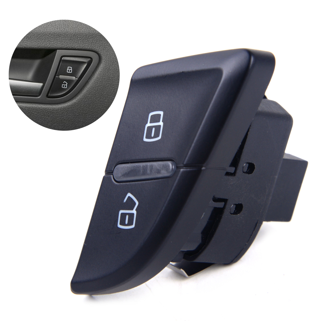 Intellective Beler Car Left Driver Side Front Door Central Lock Unlock Control Switch 8k1962107 Fit For Audi A4 S4 A5 2013 2014 Auto Fastener & Clip