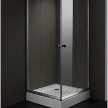 Лидер продаж прозрачное закаленное стекло душевые экраны с раздвижной дверью квадратная душевая кабина AC900F