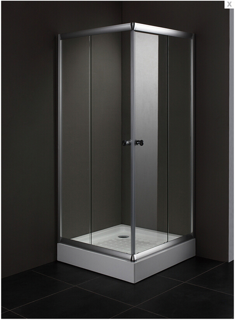 2016 Hot Sales Wholesale Clear Tempered Glass Shower Screens With Sliding  Door Square Shower Enclosure AC900F