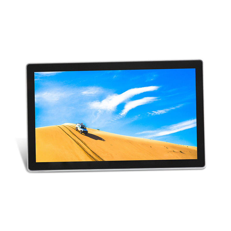 13.3 15.6 Inch Industrial Touch Pc All In One / Portable Digital Signage Touch Screen Panel