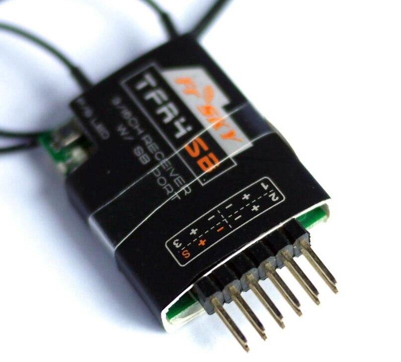 Récepteur FASST 3/16Ch S. Bus à sens unique Frsky TFR4SB 2.4G récepteur Compatible avec Futaba pour pièces RC FPV