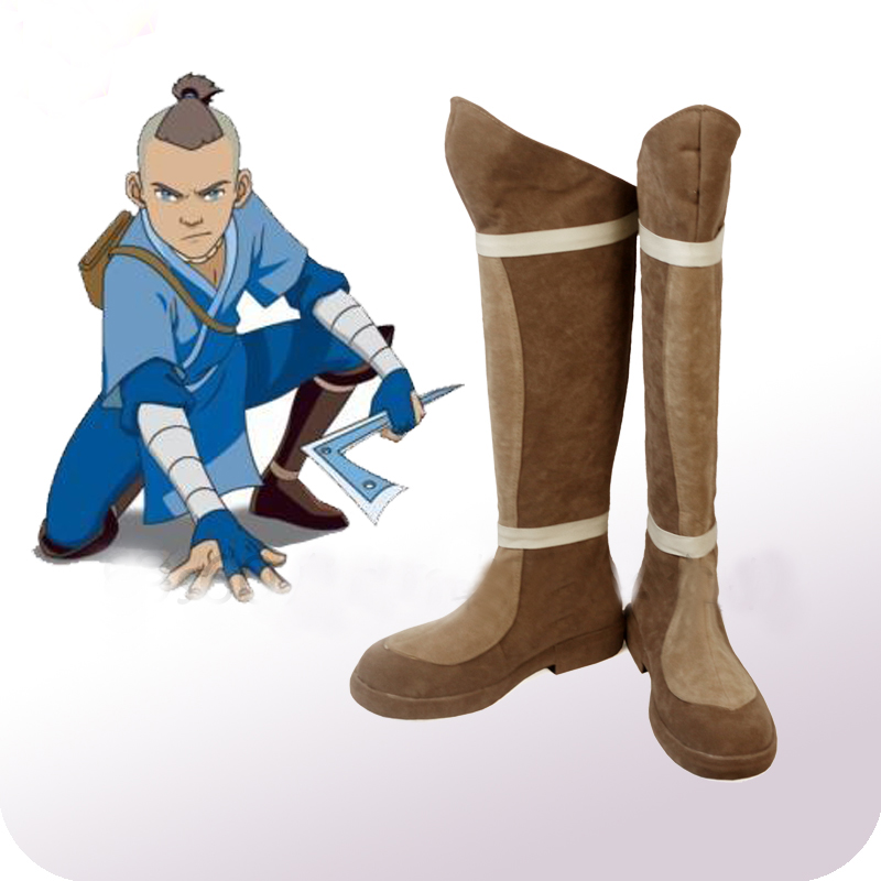 Avatar: The Last Airbender Sokka Cosplay Shoes Boots Halloween Carnival Party Cosplay Costume Accessories-in Shoes from Novelty & Special Use    1