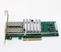 82599ES 10 Gbps Dual Port Adaptador de Servidor Ethernet PCI-Express X520 NIC Cartão