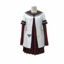 New Free Shipping Yuruyuri Cosplay Costume School uniforms