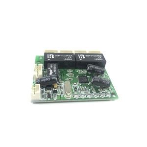 Image 2 - ミニエクストラスモール 3/4/5 ポート 10/100 Mbps エンジニアリングスイッチモジュールネットワークアクセス制御カメラ絶妙なコンパクト PCBA ボード OEM