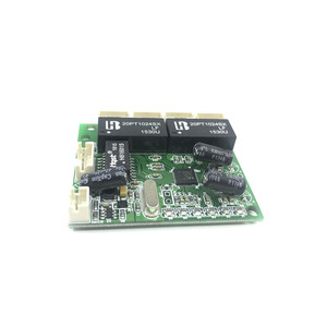 Image 2 - Mini extra kleine 3/4/5 port 10/100 Mbps engineering schalter modul netzwerk access control kamera exquisite kompakten PCBA bord OEM