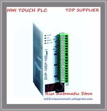Original novo dvp10sx11t plc série sx 24vdc 4di 2do (transistor) 2ai/2ao