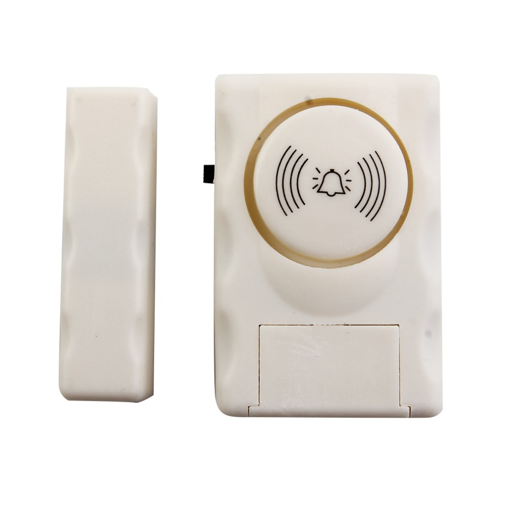 Wireless Home Security Door Window Alarm Warning System Magnetic Door Sensor Independent Alarm Wireless Open Door Detector smartyiba 433mhz wireless door window sensor door open detection alarm door magnetic sensor door gap sensor for alarm system