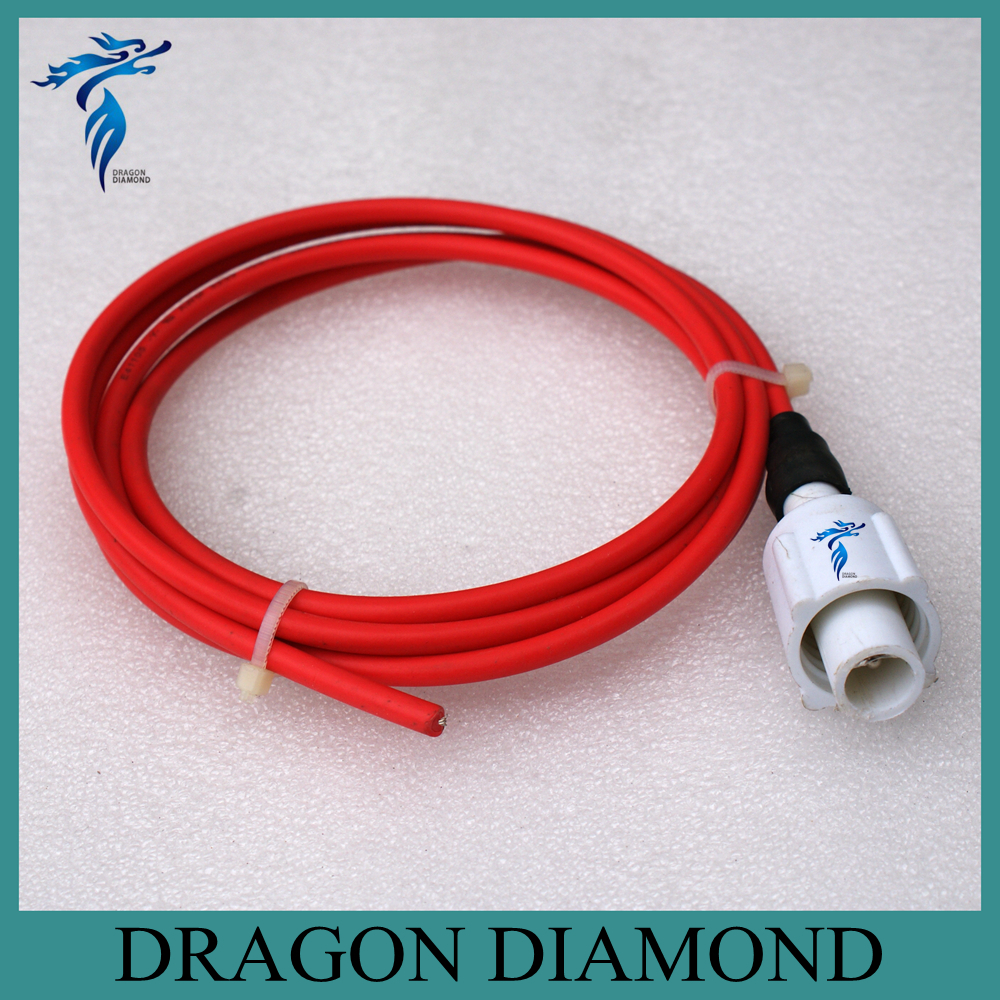 High Voltage Cable Connection Insulator : High voltage wire connector co laser power supply tube