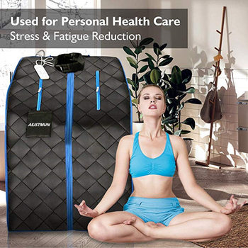 Far Infrared Sauna For luxury SPA Slimming  Negative Ion Detox Therapy Personal Fir Room Folding Chair
