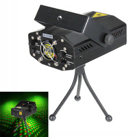 Mini Voice Automatic Control R G Laser Lights Lighting Projector Disco DJ Stage Xmas Party Show