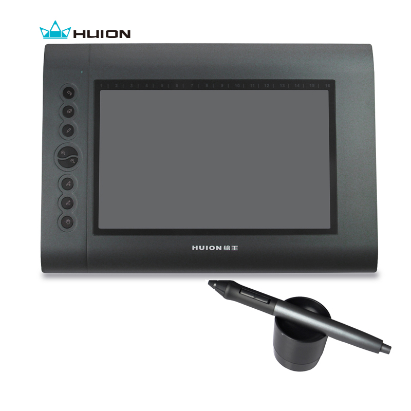 Free Shipping Huion H610 Graphics Tablet Drawing Tablets Professional Signature Tablets Pen Tablet Black huion h610 8 expresskey usb graphic pen tablet black