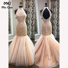 Elegant 2018 Mermaid Evening Prom dresses Evening Dress