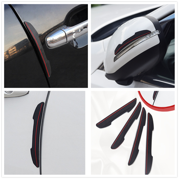 Car Collision Door Strip crash Bumper sticker for Mercedes Benz W211 W203 W204 W210 W124 AMG W202 CLA W212 W220 image
