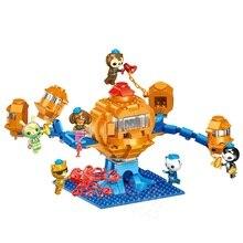 Octonauts Modelo Building Blocks Define Brinquedos Dos Desenhos Animados Peso Cracas Capitão Kwazii Shellington Dashi Figuras Compatível Legoedly