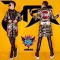 Лагер размер мужская одежда Free shopping мужская GD ночной клуб бар flaming lips яркие костюмы пальто/S-XL