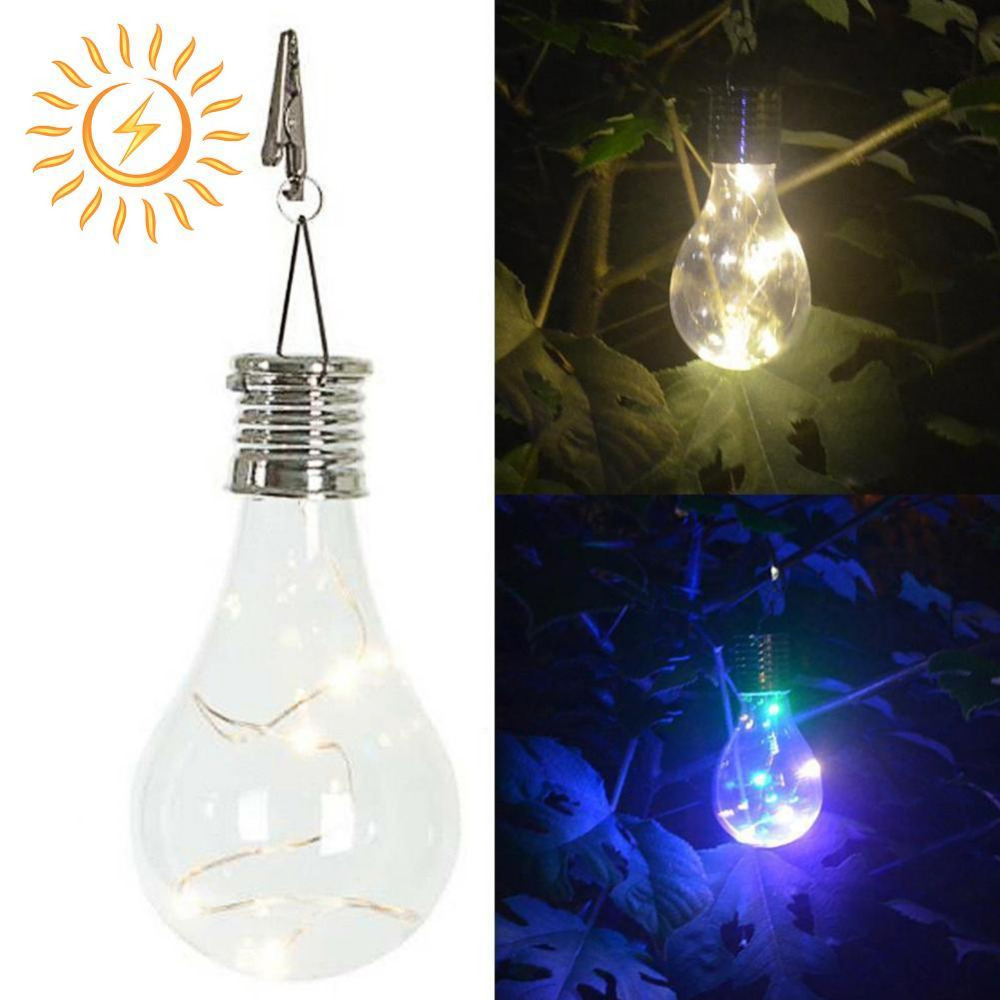Jiaderui LED Outdoor Waterproof Solar Rotatable Garden Camping Hanging Lights LED Lamp Bulb Decorate Xmas Outdoor Holiday Party