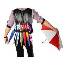 Эластичный зонтик, волшебные трюки, маг, зонтик, производственный аксессуар, сценический иллюзионный ментализм, трюк, реквизит, Классические игрушки