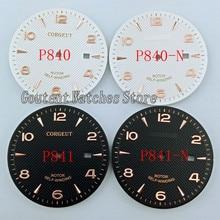 Циферблат для наручных часов 35,6 мм, подходит для ETA 2836 Miyota 8215 8205 821A