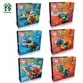 Super heroes 6 Unidades lot mighty micros marvel avengers batman compatible con lego modelo y juguetes de construcción de bloques de construcción ladrillos