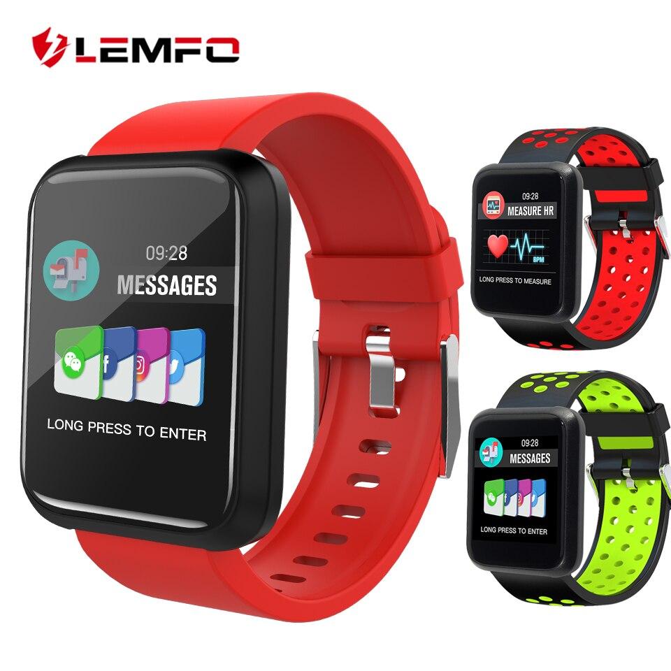 LEMFO Smartwatch Pedometer Heart Rate Blood Pressure Monitoring Smartwatch Sport3 IP67 Waterproof BT4 1 Smart Watch