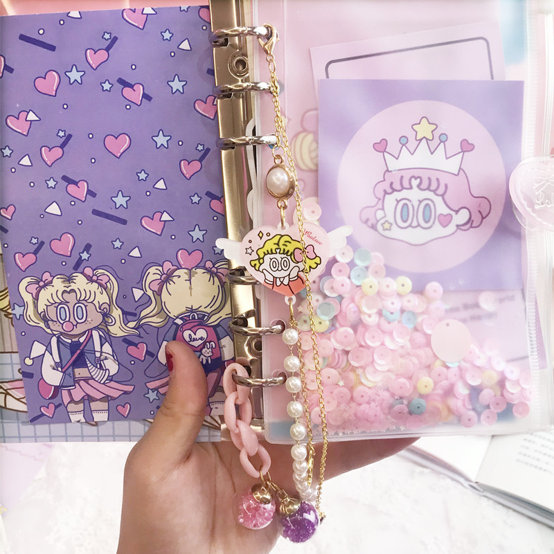 Image 4 - DIY Notebook Bingbing Super Star Planer Kawaii Bullet Journal Girl 's Diary Organizer Student Daily Weekly Plan Stationery Gift-in Notebooks from Office & School Supplies