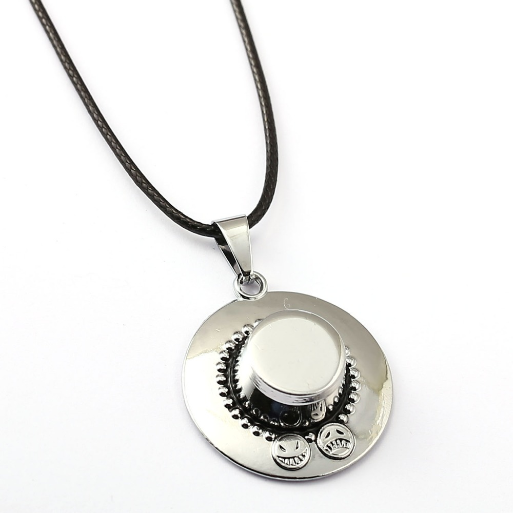 Un collar pieza ACE plata colgante collar amistad hombres mujeres anime  joyería gargantilla Accesorios ys11448 f85d2382089