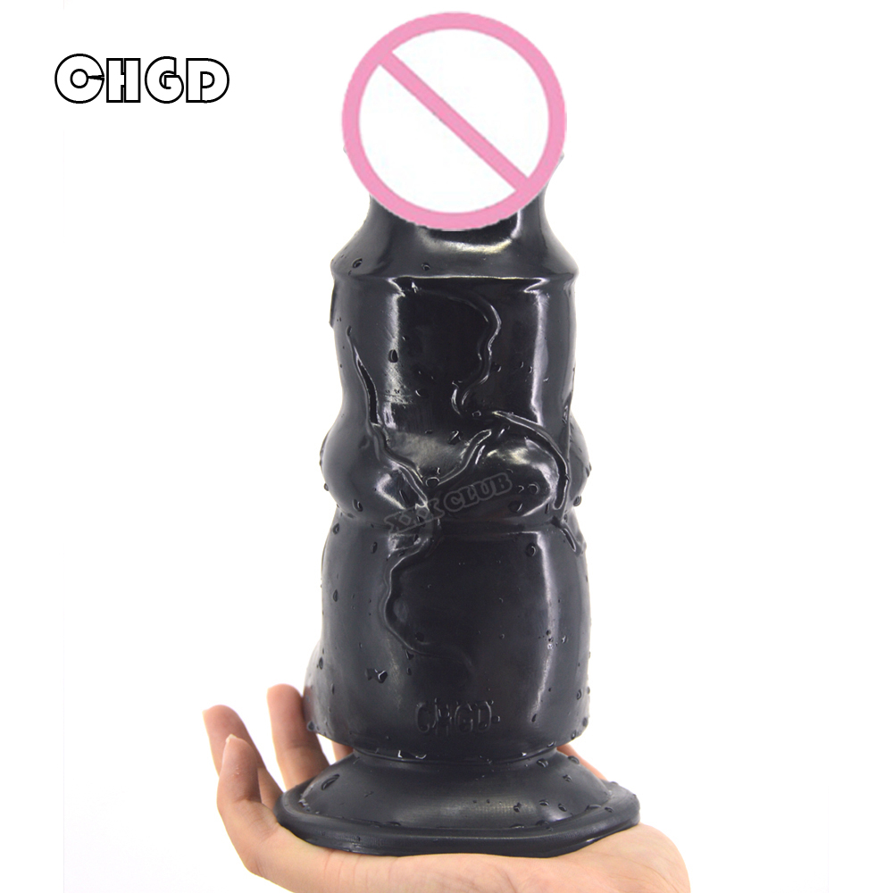 CHGD 21.7*7cm Super Real Big Dildo Strong Suction Cup Dildo anal plug sex Women Huge Dildos Realistic Adult Game Female Sex Toys super long dildo 420 50mm horse dildos with strong suction cup huge anal dildo female massage sex toys for women fake penis