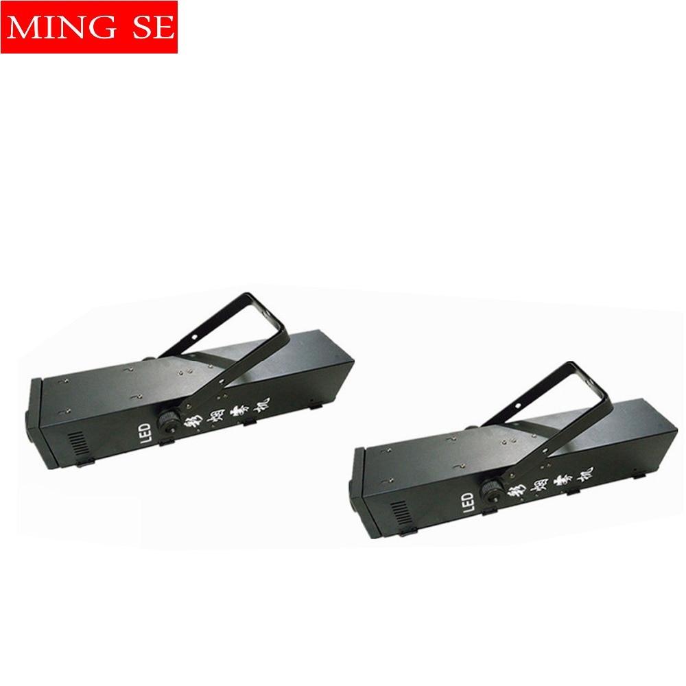 2ks / šarže Mlhací stroj RGB 3v1 LED 1500W kouřový stroj profesionálního DJ vybavení