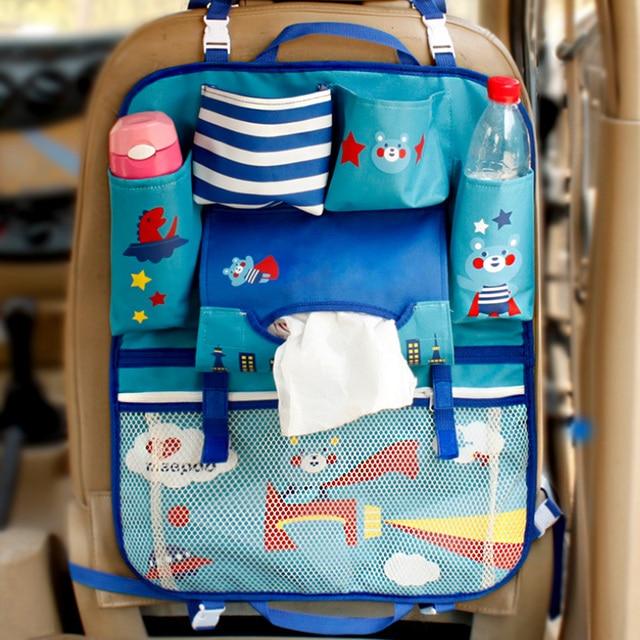 Smdppwdbb multifuncional impermeable universal del organizador coche de bebé cesta colgante de almacenamiento cochecito Accesorios