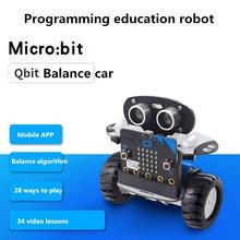 Микробит умный баланс автомобиля LOBOT Qbit/микробит Плата расширения программируемый робот