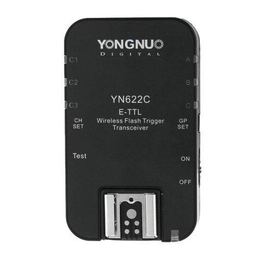 Yongnuo YN 622C YN622C I ttl Wireless Flash Trigger  transceiver receiver for YN 622C TX YN622C TX for Canon 70d 650d 6d-in Shutter Release from Consumer Electronics    1