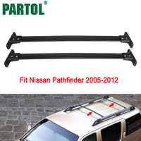 Partol Car Roof Rack Crossbars Cross Bar Roof Luggage Carrier Roof Rail For Nissan Pathfinder 2005