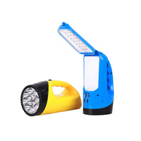 Flashlight Household Rechargeable Flashlight LED Searchlight Safety Portable Lamp Table Lamp 2 In One Super Durable
