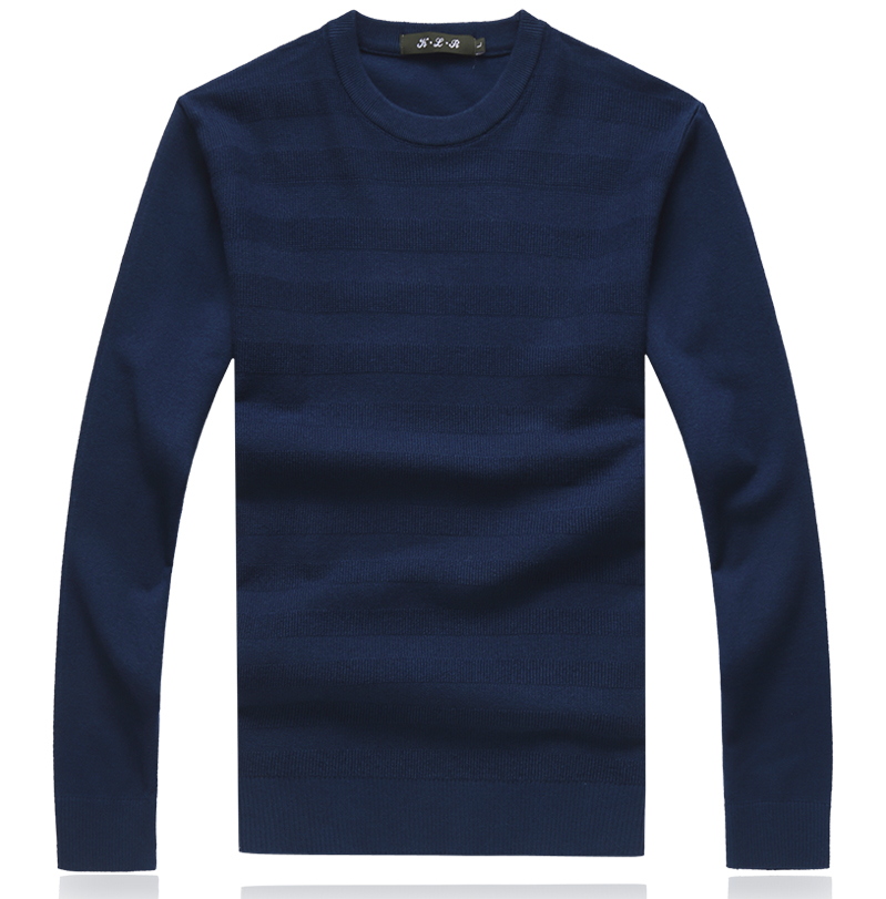 Winter Christmas Cashmere Striped  Sweater Men Pullover Fashion Mens Jumper Plus Size Mens Sweaters 2019 Crewneck M-5XL 8XL