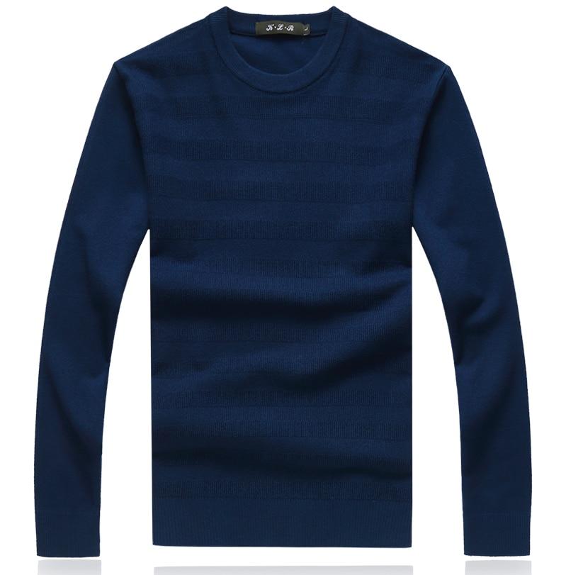 Winter Christmas Cashmere Striped  Sweater Men Pullover Fashion Mens Jumper Plus Size Mens Sweaters 2019 Crewneck M-5XL 8XL