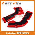 Plastic Red Black Frame Guards Protection for Honda CRF250R 2014-2016 CRF450R 2013-2016 13 14 15 16 Dirt Bike Off-road