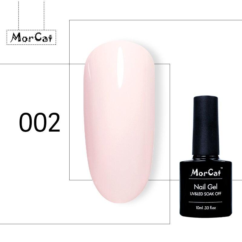 MorCat Nail Gel Polish Pink Glitter UV Gel Nail Polish Nail Art Design Pink Gel Varnish Vernis Semi Permanant Soak Off UV Gel in Nail Gel from Beauty Health