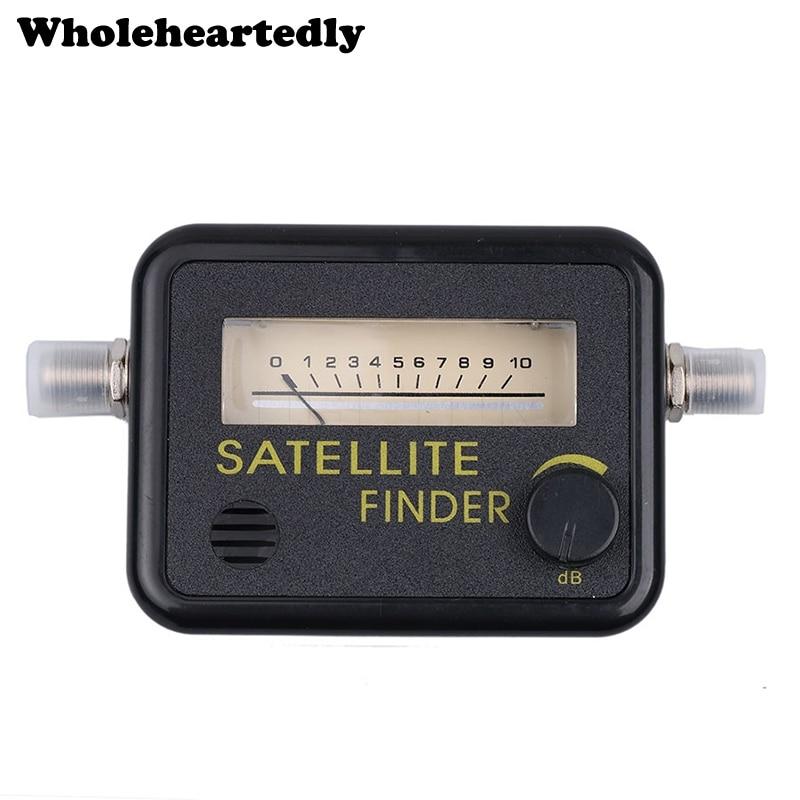 Original Satellite Finder Find Alignment Signal Meter Receptor For Sat Dish TV LNB Direc Digital TV Signal Amplifier Satfinder