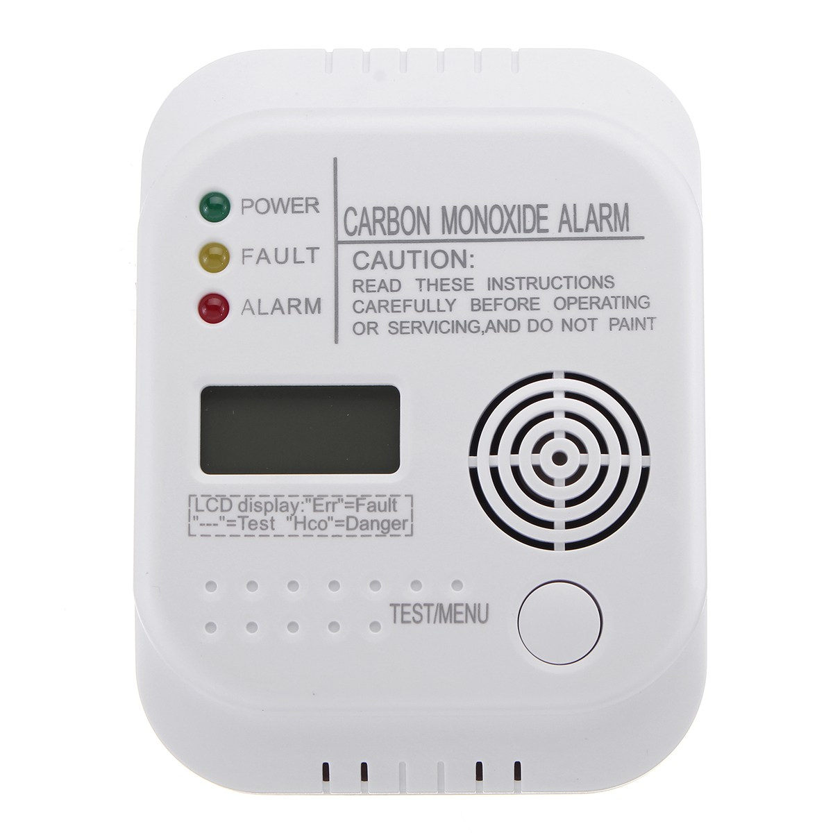 NEW CO Carbon Monoxide Alarm Detector LCD Digital Home Security Indepedent Sensor Safety(China)